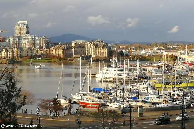 Fascinating Inner Harbor - Victoria BC