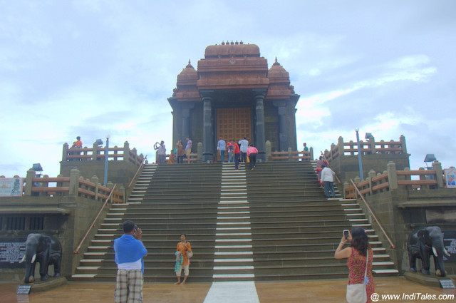 Vivekananda Rock Memorial front view