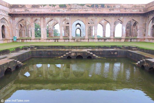 Baz Bahadur Palace Water Tank