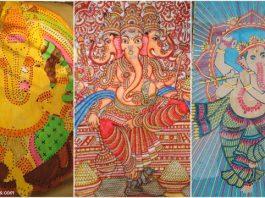Ganesh artworks on display at Dastkar festival Delhi