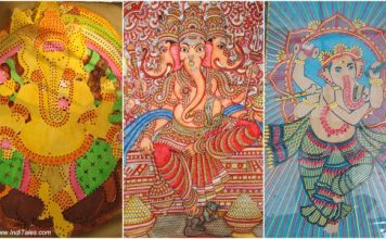Ganesh artworks on display at Dastkar festival Delhi