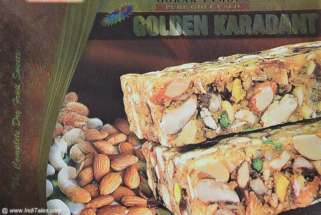 Gokak Karadant dry fruits loaded Sweet dish