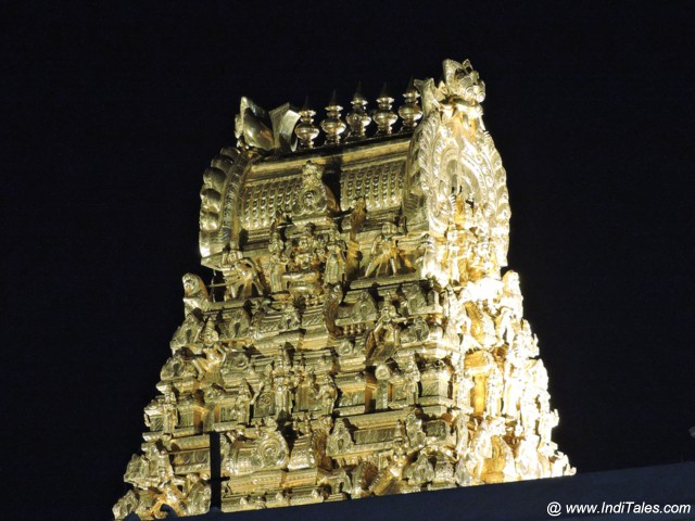 Golden Gopuram of Kanchi Kamakshi Temple