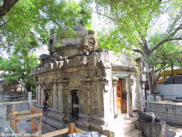 eshwara Temple - the oldest stone Temple in Kanchipuram