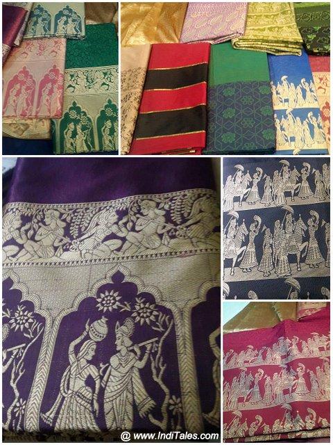 Mysore Silk Sarees - Shopping in Bangalore