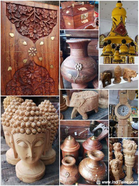 Mysore Souvenirs - Wooden Handicrafts