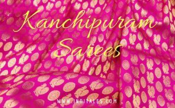 Kanchipuram Sarees in Pink & Gold