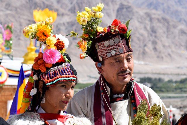 Beautiful Ladakhi Couple