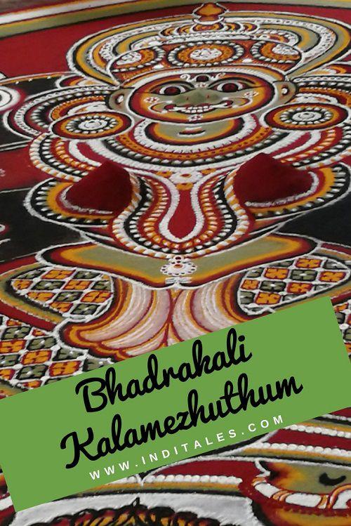 Bhadrakali Kalamezhuthum Pattum - Kerala