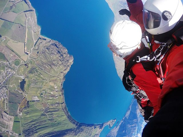Sky Diving in New Zealand South Island