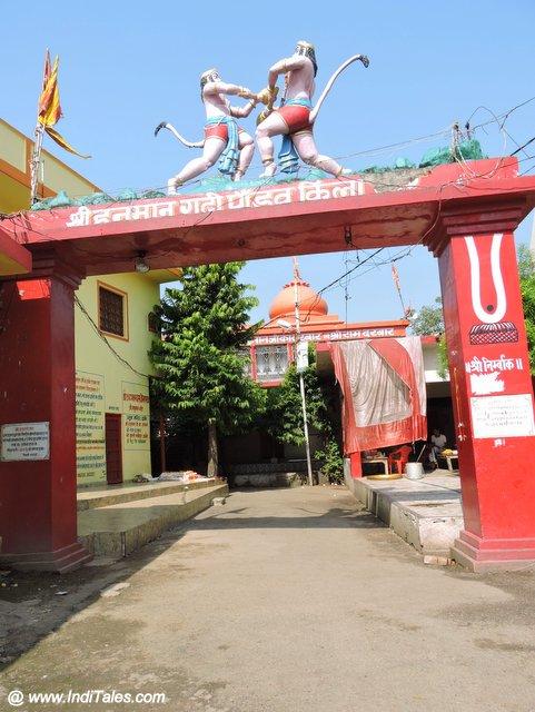Hanumangarhi at Naimisharanya