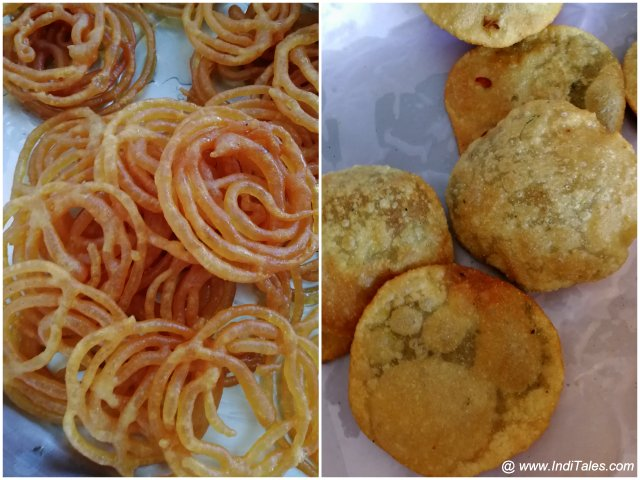 Jalebi & Kachori for Breakfast