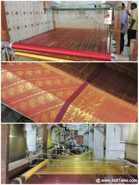 Handloom of Kanchipuram Saree