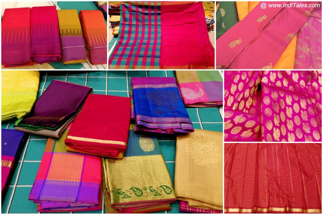 Kanchipuram Sarees or Riot of Colors