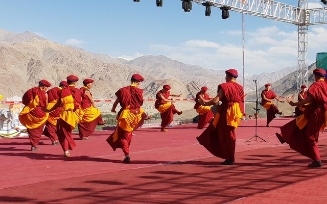 Kung Fu Nuna performing at Naropa Festival