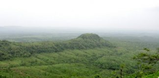 Satpura Hills as seen from Asirgarh Fort near Burhanpur