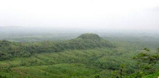 Satpura Hills as seen from Asirgarh Fort near Burhanpur