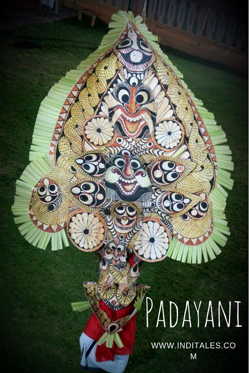 Elaborate Padayani Mask of Bhadrakali