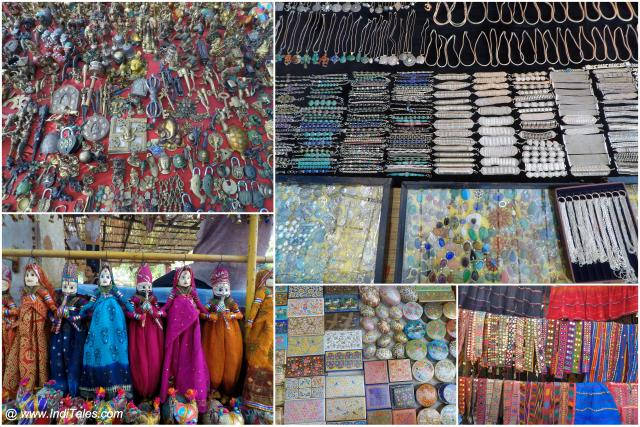 Artifacts and Jewelry at Anjuna Flea Market