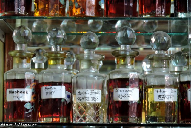 Colorful Atar or Perfume Bottles from Lucknow