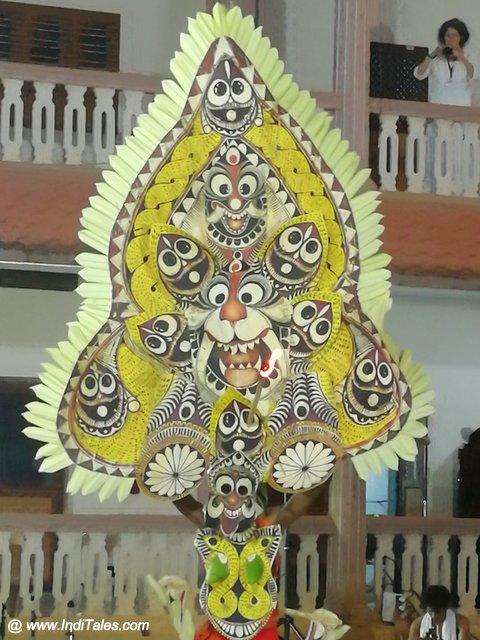 Bhadrakali Mask for Padayani