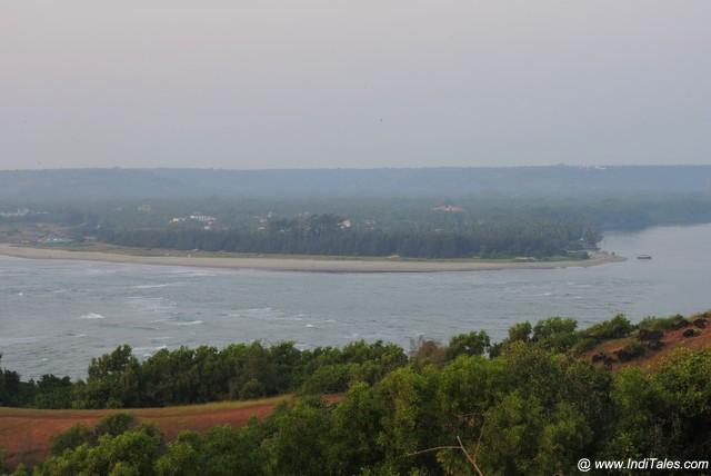 Chapora river estuary