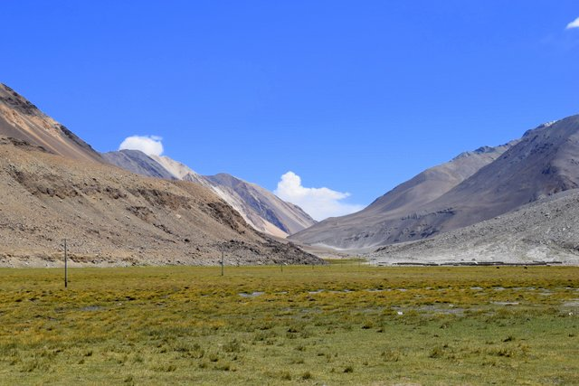 Landscape of Ladakh en route