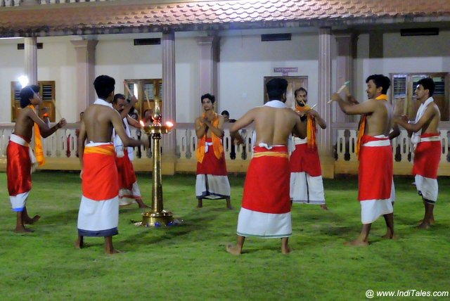 Dancing around the Lamp - Padayani in Kerala