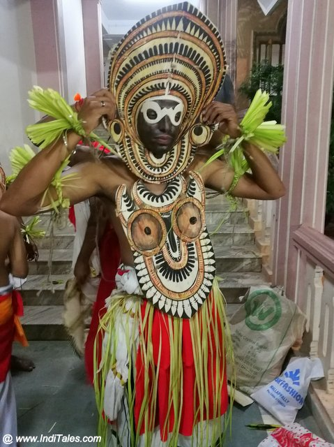 Padayani Dancer