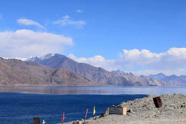 Himalayan Pangong Lake, Ladakh