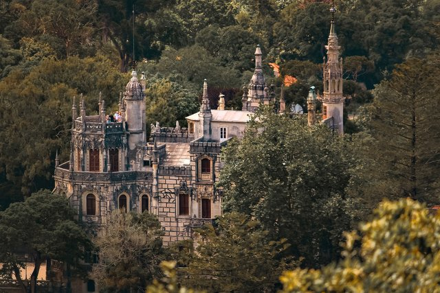 Quinta da Regaleira Palace one of the many palaces in Sintra