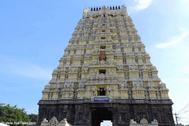 11 Story Raj Gopuram at Ekambareswarar Temple Kanchipuram