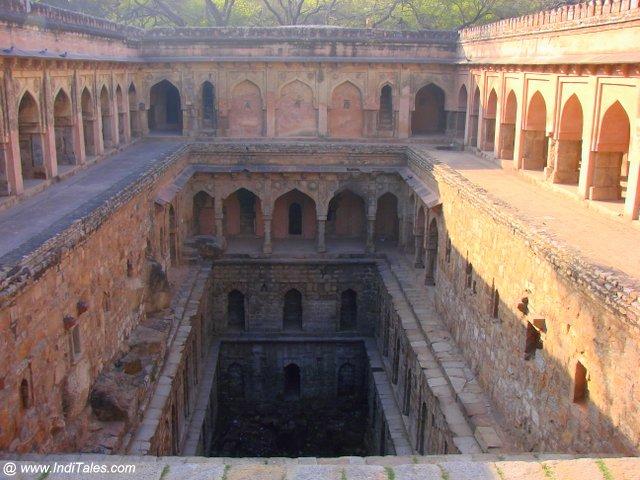 Rajon Ki Baoli a heritage stepwell