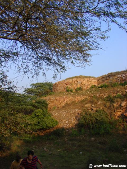 Fort Walls of Lal Kot