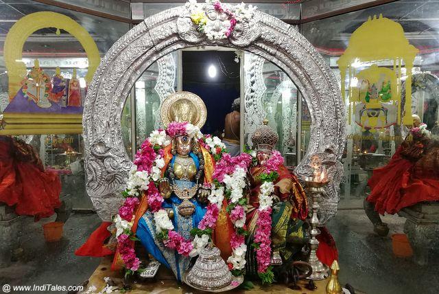 Utsav Murtis of Shiva-Parvati at Ekambareswarar Temple