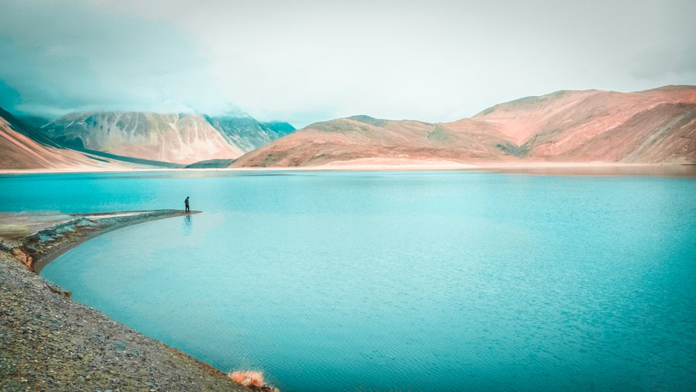 Colors of the Himalayan Lake