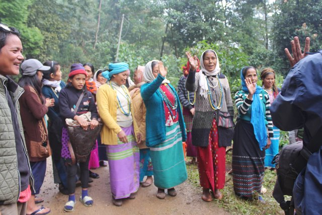 Galo Tribe Women at Basar, Arunachal Pradesh