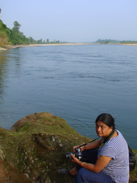 At Nameri National Park, Assam