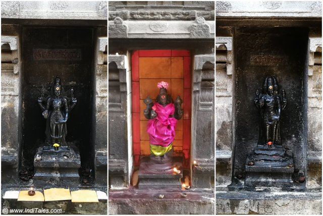 Murtis at Punyakoteeswara Temple at Kanchipuram