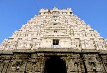 Raj Gopuram of Varadaraja Perumal Temple - Kanchipuram
