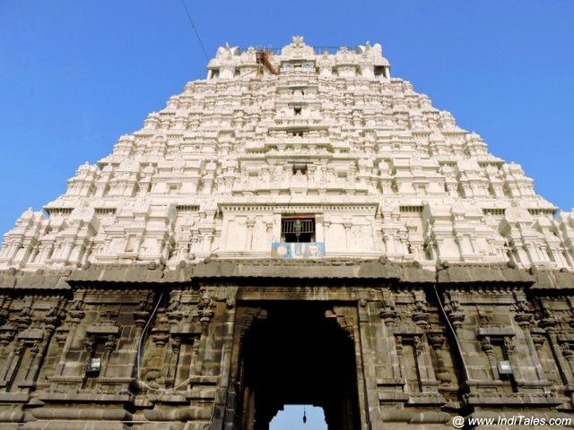 Raj Gopuram of Varadharaja Perumal Temple - Kanchipuram