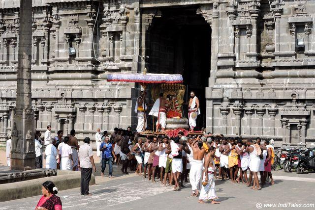 Festivals of Vishnu Kanchi Temples