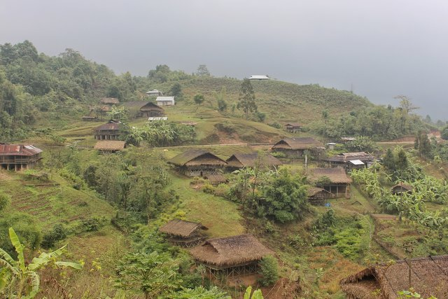 Village Galo homes, Arunachal Pradesh