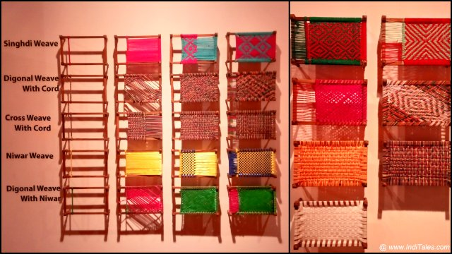 Traditional Charpai designs at Serendipity Art Festival