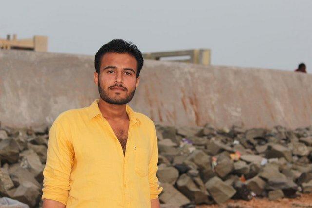 Jayesh Rabari of Dwarka