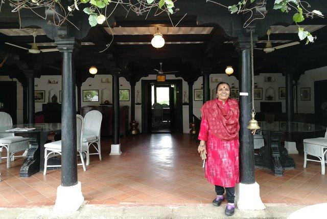 Kunta Bai - Ahilya Fort Maheshwar in 2018