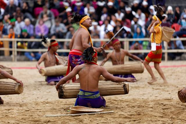 Music and Dance at Hornbill Festival Nagaland