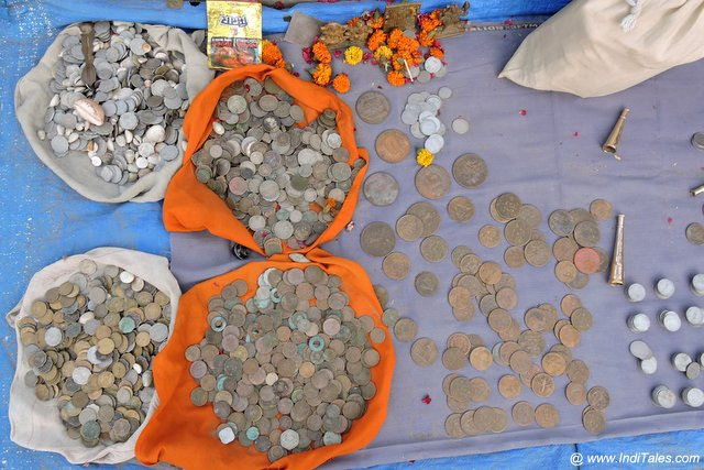 Old Coins as Haridwar Rishikesh Souvenirs