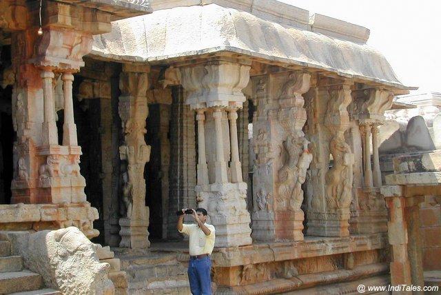 Pillars of Lepakshi Temple - Andhra Pradesh