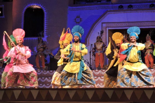 A Punjabi performance at Lokotsav